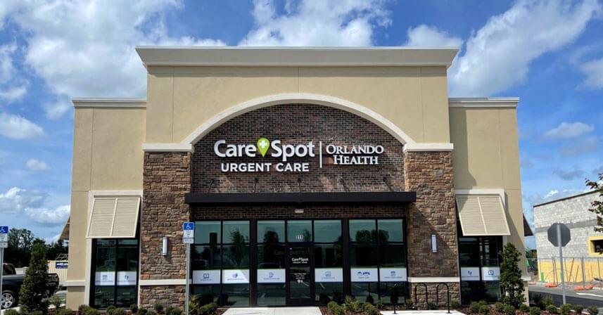CareSpot Urgent Care | Orlando Health expands urgent care services to Avalon Park